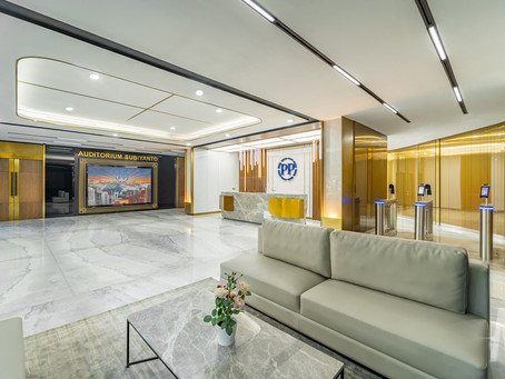 Completed Project: PP Office Lobby, Jakarta