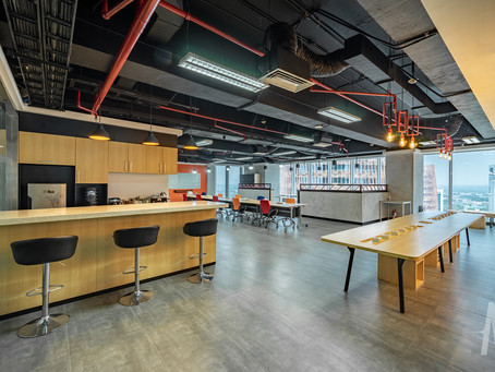 Completed Project: Seven Event Office, Jakarta