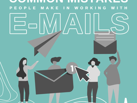 8 Common Mistakes in Professional E-mail Communications