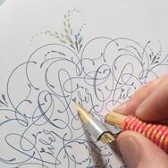 Kaligrafska rozeta