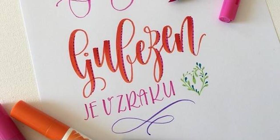 Darilna kaligrafija, Domžale