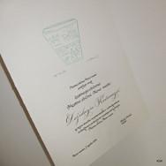 Kaligrafija na listine