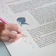 Kaligrafsko besedilo