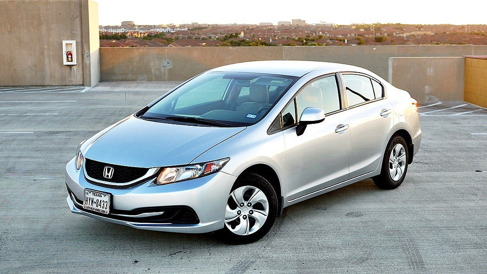 Honda Civic EX Sedan 4D