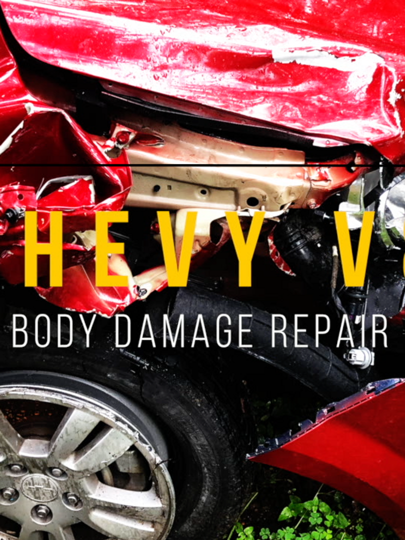 Chevy Sonic Body damage Collision Repair