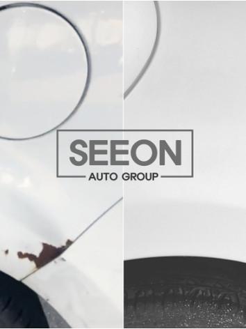 Hyundai Accent RH Quarter Panel body damage repair