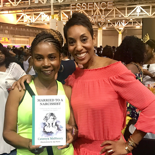 Essence Fest Book Signing