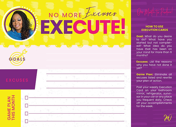Execution Cards (set of 5 cards)