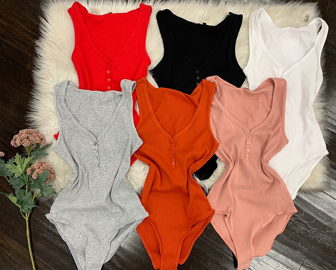 Audrey button bodysuit