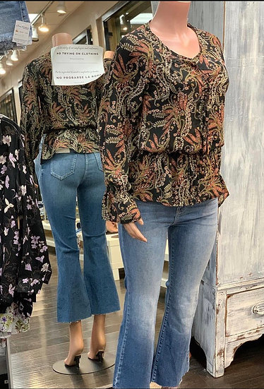 Lily high rise bell bottoms