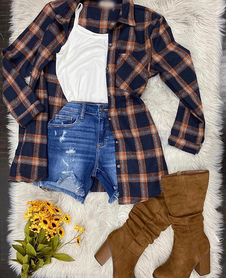 Boyfriend oversized flannel