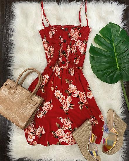 Darla Dress ( red)