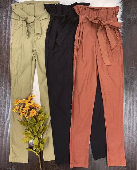 Celine Paper Bag Pants