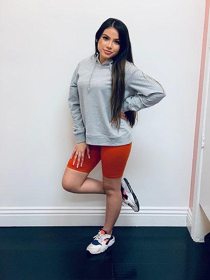 New Kylie Biker Shorts (Rust)
