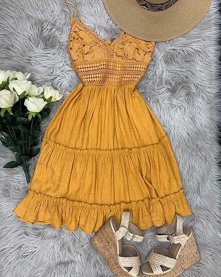 Sunflower wine tasting Dress