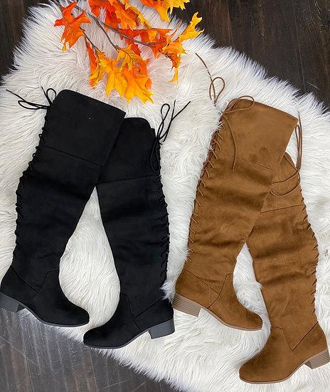 Daisy thigh high boots