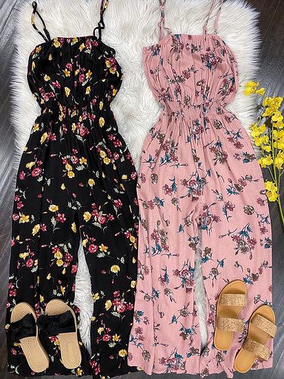 Delia floral Jumpsuit