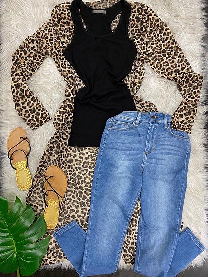 Koko Leopard Duster