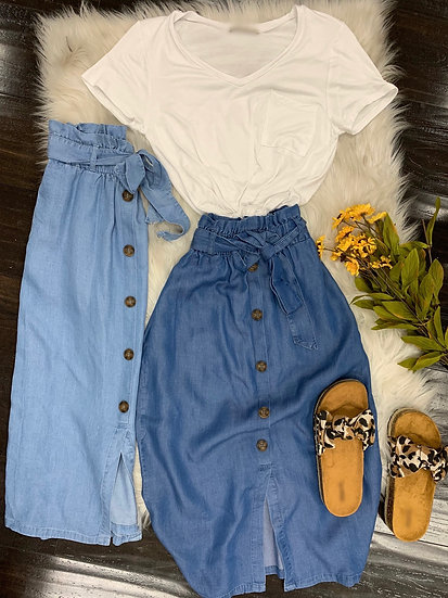 Summer Highwaisted skirt
