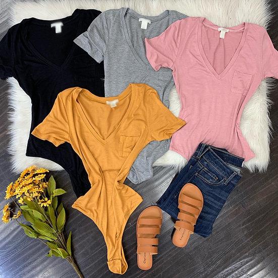 Monica Pocket Bodysuit