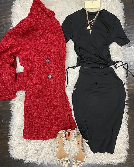 Kimberly 2 pc Set ( black )