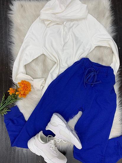 Dodger Blue Jane joggers