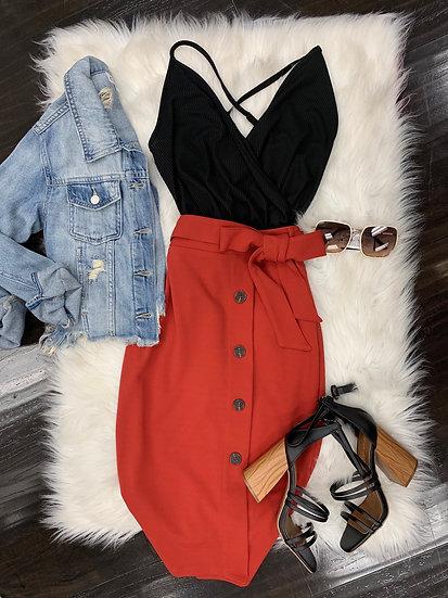 Daisy Midi Skirt