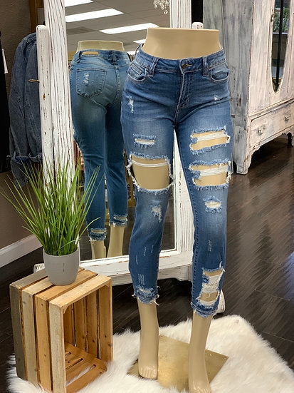 Summer mid rise Jeans