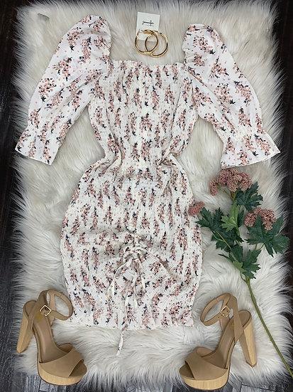 Delia floral Dress