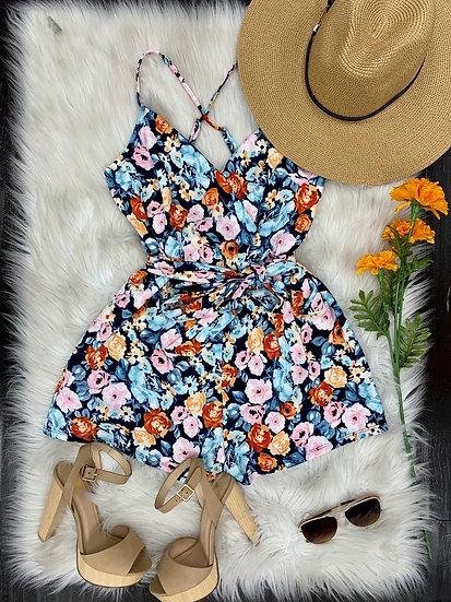 Acapulco floral Romper