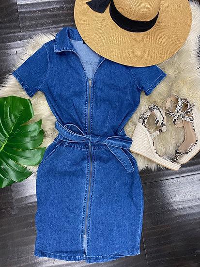 Koko Denim Dress