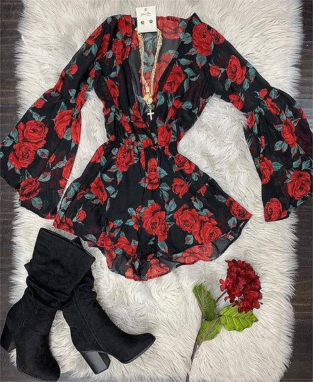 Rose Romper