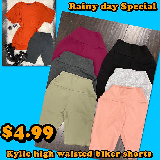 Kylie highwaist biker shorts