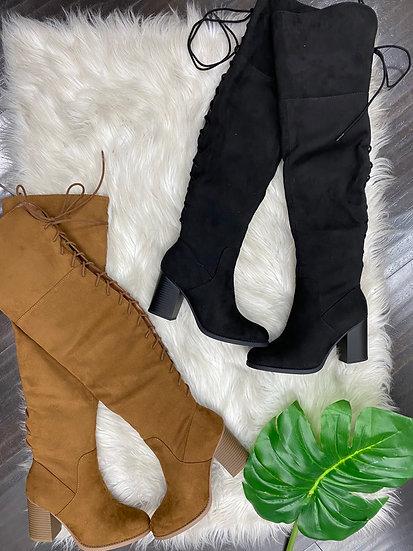 Monique thigh high boots