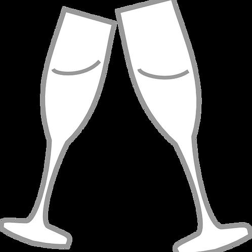Louis Vallon Brut, Cremant de Bordeaux. Игристое белое вино. Франция