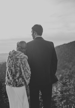 adventure elopement in mountains