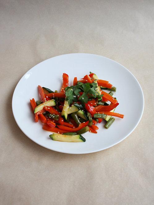 Овощи wok