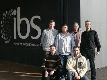 Pixel team IBS Grenoble 2014
