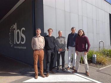Pixel team IBS Grenoble 2017