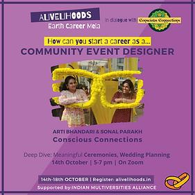 Community Event Designer