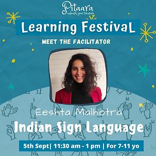 Sign Language Workshop