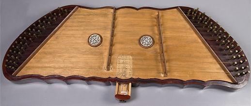 Yangqin.  Chine/China  XIX siècle/century Collection: The Metropolitan Museum of Art. New York