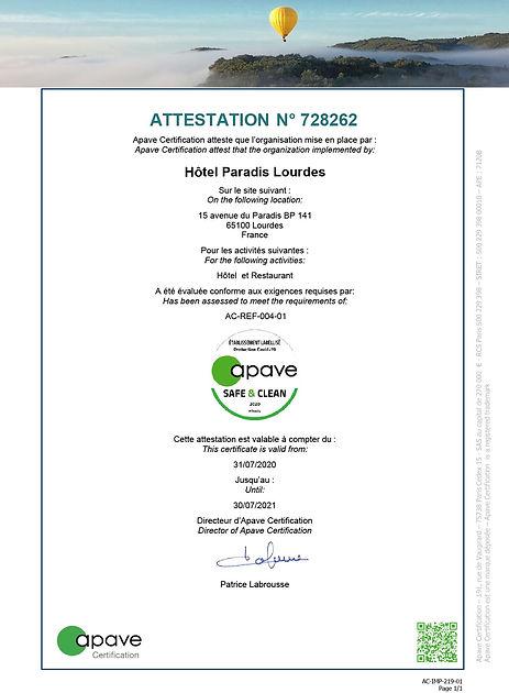 728262-7808 - Attestation Safe & Clean (