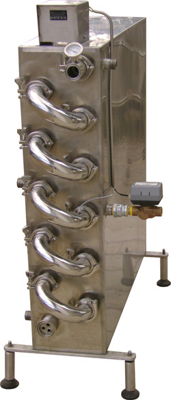 Pasteurizador tubular 1000 litros/h