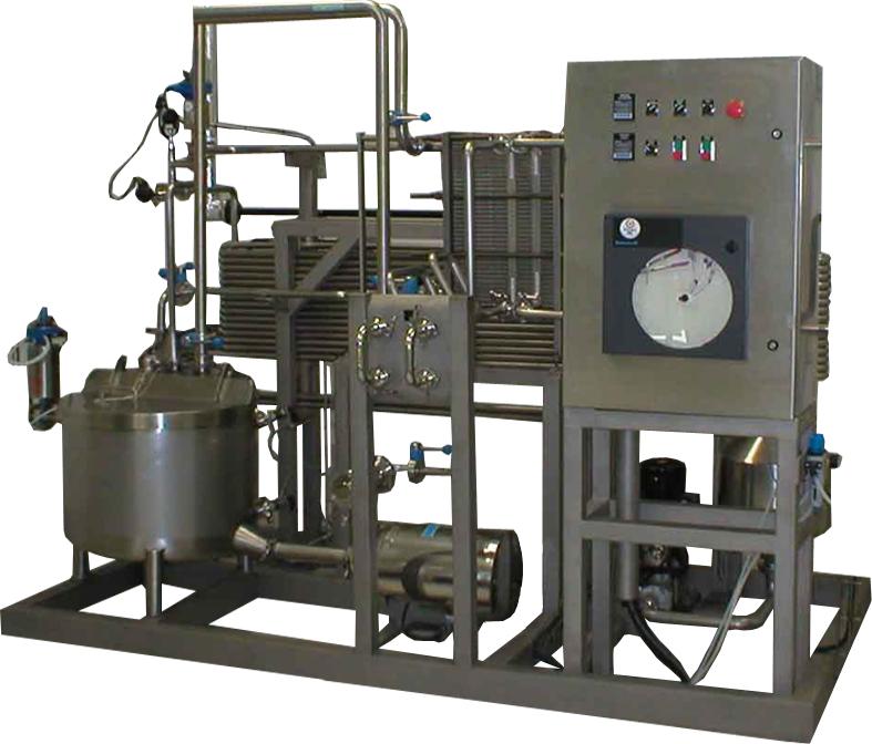 Pasteurizador HTST 1000 litros/hora