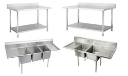 Mesas y pozos de lavado