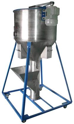 Mezclador helicoidal vertical