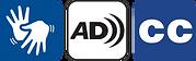 Símbolos de libras e audiodescrição
