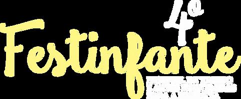 Logo do 4º Festinfante - Festival de teatro e artes integradas para a infância