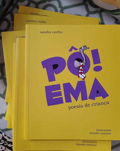 Foto do livro Pô Ema